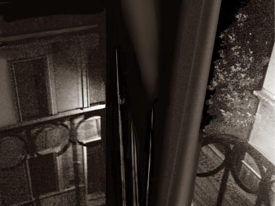 Nel ghetto, al terzo piano di una via stretta – Con traduzione in siciliano